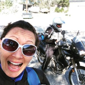 Southern California motorcycle riding